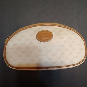 Vintage Gucci micro GG cosmetic bag